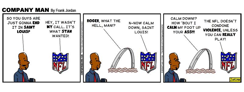 F*ck off #NFL! -#StLouis 1/13/16