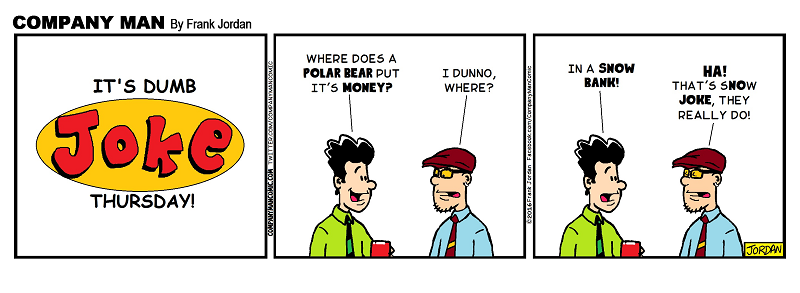 It's #DumbJokeThursday on a Friday! 1/29/16