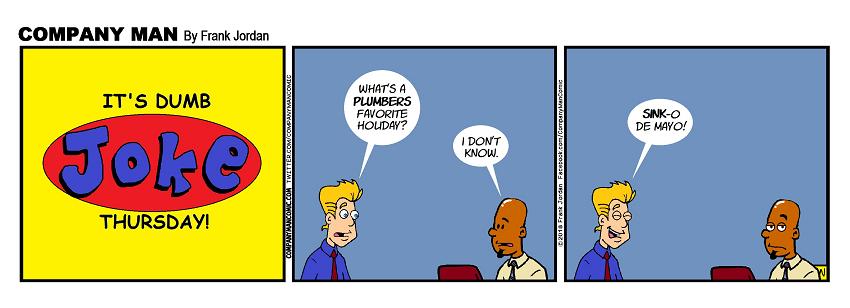 It's #DumbJokeThursday! 5/3/18