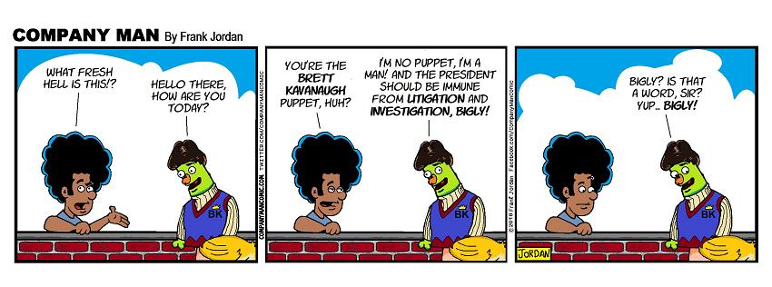 It's #Puppetkavanaugh! 7/11/18