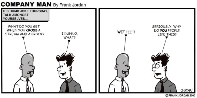 A Company Man Dumb Joke Thursday Classic 10/24/13