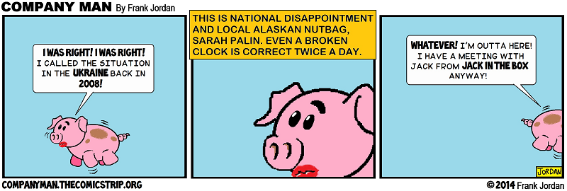 Nailin' Palin! 3/5/14