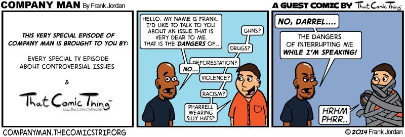 The FINAL guest strip: Darrel Troxel! 4/10/11