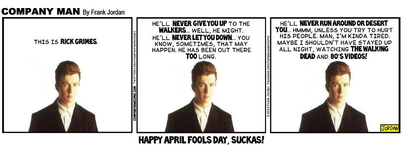 Happy April 1st Day, folks! 4/1/15