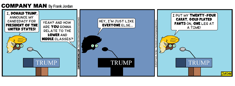#DonaldTrump is an everyday normal guy! 6/17/15
